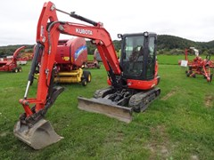 Excavator-Mini For Sale 2015 Kubota KX040-4 , 40 HP