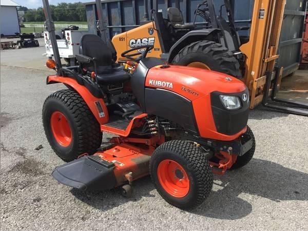 2016 Kubota B2601HSD Tractor For Sale