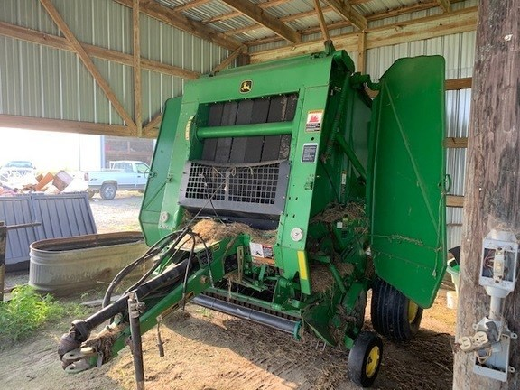 2007 John Deere 458 Silage Special Baler-Round For Sale