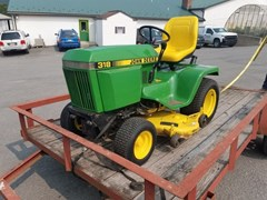 Lawn Mower For Sale 1988 John Deere 318