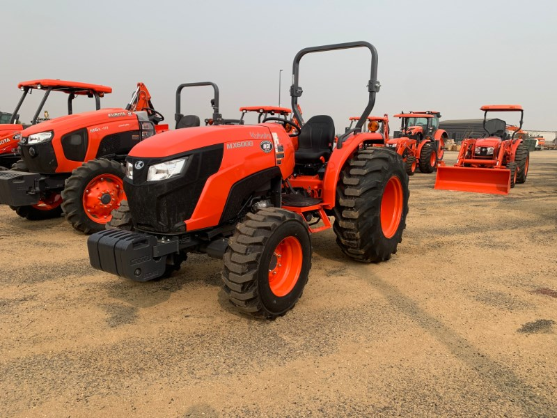 2021 Kubota MX6000 ROPS Tractor For Sale
