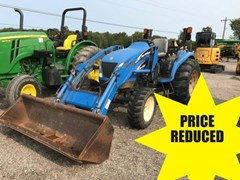 Tractor - Compact Utility For Sale 2000 New Holland TC45 , 45 HP