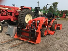 Tractor - Compact Utility For Sale 2017 Kubota B2601HSD , 25 HP