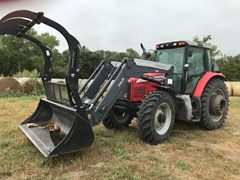 Tractor - Row Crop For Sale 2005 Massey Ferguson 6475