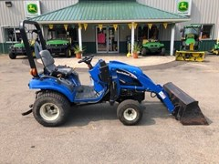 Tractor - Compact Utility For Sale 2003 New Holland TZ24DA , 24 HP