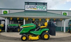 Lawn Mower For Sale 2016 John Deere X370