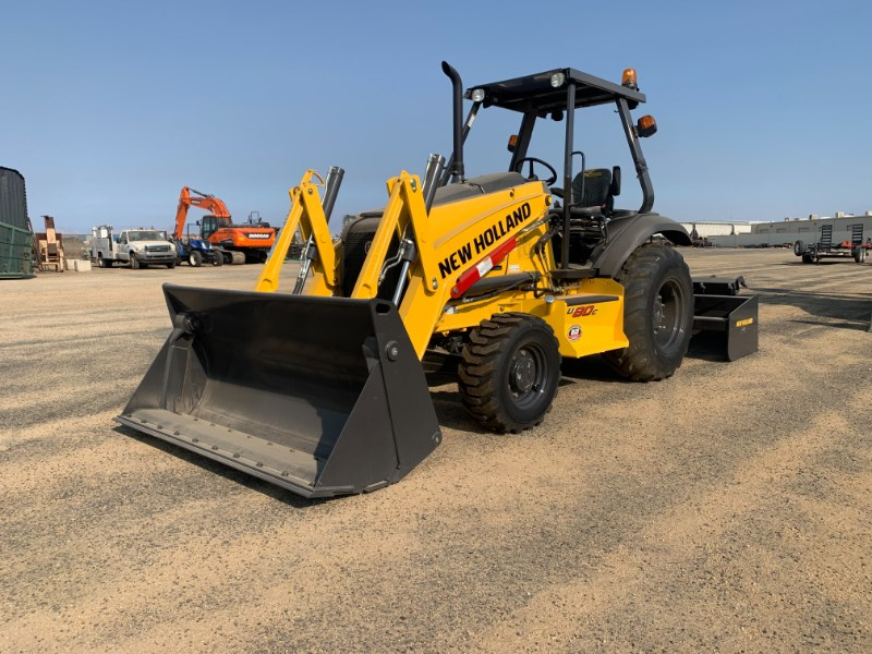 2021 New Holland U80C Loader Backhoe For Sale