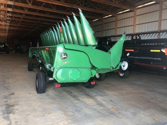 2018 John Deere 718C Header-Corn For Sale