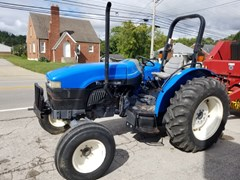 Tractor For Sale 2002 New Holland TN55 , 55 HP