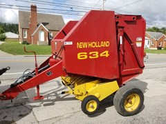 Baler-Round For Sale 1998 New Holland 638