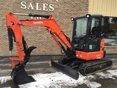 Excavator-Mini For Sale 2013 Kubota U35-4R3 , 24 HP
