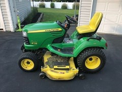 Lawn Mower For Sale 2011 John Deere X728