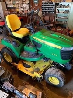 Riding Mower For Sale 2013 John Deere X710