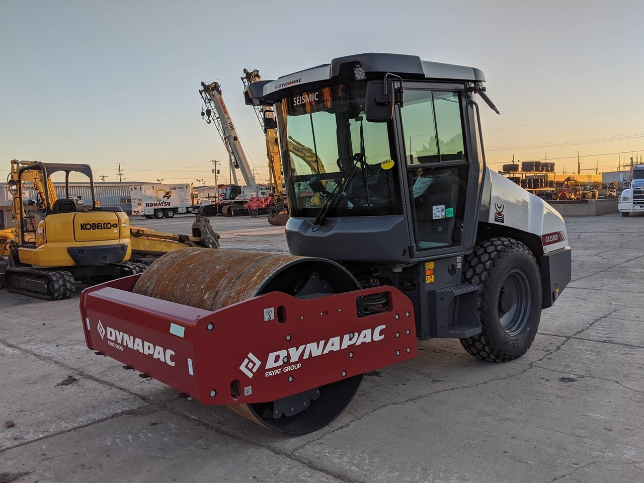2020 Dynapac CA1500D Compactor For Sale