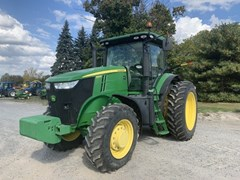 Tractor - Row Crop For Sale 2011 John Deere 7215R , 215 HP