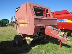 Baler-Round For Sale 1996 New Holland 664