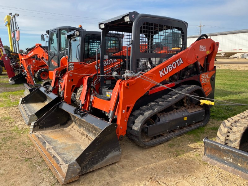 2019 Kubota SVL65-2H Skid Steer-Track For Sale