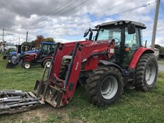 Tractor - Utility For Sale 2014 Massey Ferguson 5612 Deluxe , 115 HP