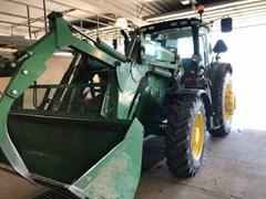 Tractor - Row Crop For Sale 2018 John Deere 6155R , 155 HP