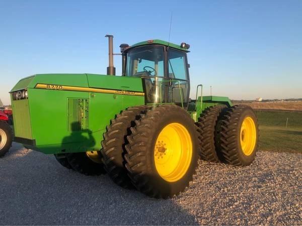 1995 John Deere 8770 Tractor For Sale