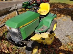 Lawn Mower For Sale 1997 John Deere 425 , 20 HP