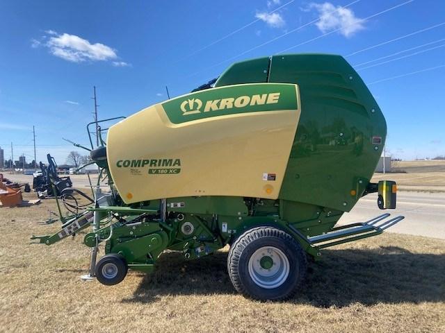 2020 Krone Comprima V180XC Baler-Round For Sale