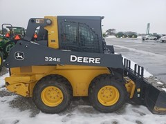 Skid Steer For Sale 2018 John Deere 324E