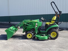 Tractor - Compact Utility For Sale 2018 John Deere 1025R , 25 HP