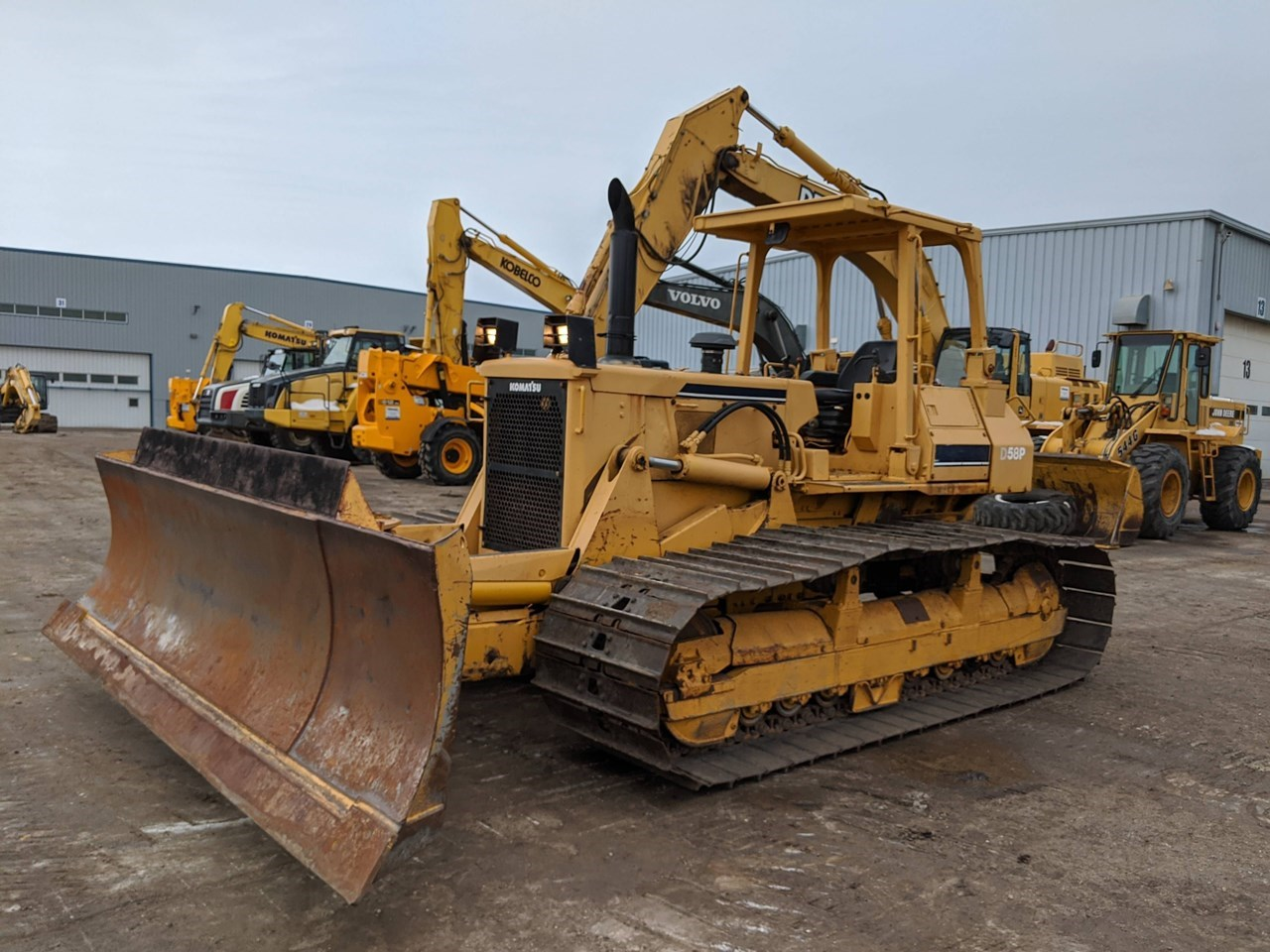 Komatsu D58P-1 Crawler Tractor For Sale