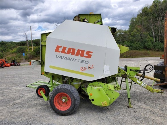 2005 CLAAS VARIANT 260 Baler-Round For Sale