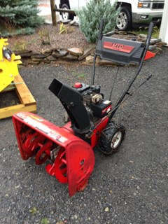 Snow Blower For Sale Yard Machines 24