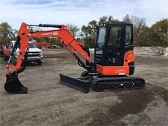 Excavator-Mini For Sale 2021 Kubota U35-4 , 24.8 HP
