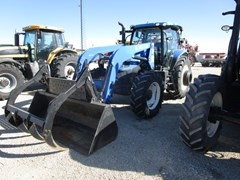 Tractor For Sale 2013 New Holland T6.165 , 140 HP