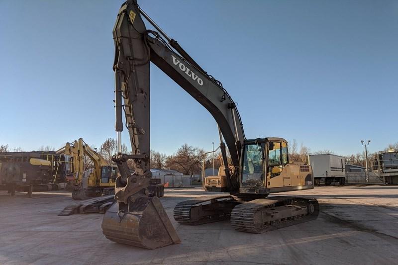 2008 Volvo EC240CL Excavator For Sale
