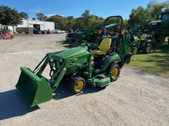 Tractor - Compact Utility For Sale 2015 John Deere 1025R , 25 HP