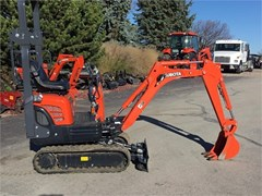 Excavator-Mini For Sale 2021 Kubota K008 , 10.3 HP
