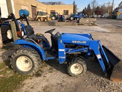 Tractor For Sale 2001 New Holland TC21D , 21 HP