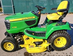 Riding Mower For Sale:  2013 John Deere X758 , 24 HP