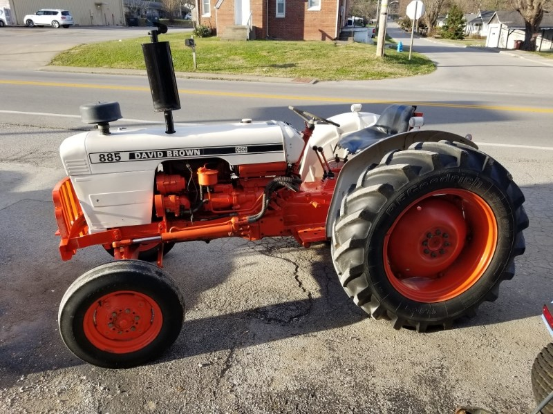 1973 David Brown 885 Tractor For Sale