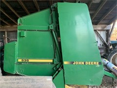 Baler-Round For Sale 1989 John Deere 535