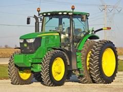 Tractor - Row Crop For Sale 2013 John Deere 6170R , 170 HP