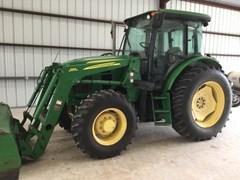 Tractor - Utility For Sale 2010 John Deere 6115D , 115 HP