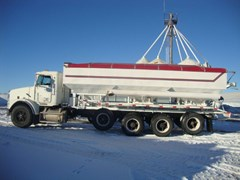 Dry Fertilizer-Transport Auger Trailer For Sale 1996 Ray-Man
