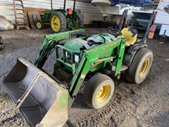 Tractor - Compact Utility For Sale 2002 John Deere 4110 , 20 HP