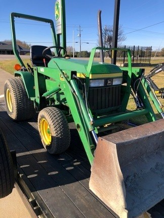 1995 John Deere 670 Tractor - Compact Utility For Sale