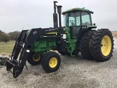 Tractor - Row Crop For Sale 1990 John Deere 4755