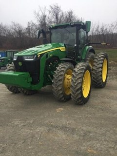 Tractor - Row Crop For Sale:  2020 John Deere 8R 370 , 370 HP