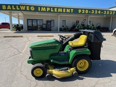 Riding Mower For Sale 1999 John Deere 345 , 20 HP