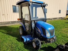 Tractor - Compact Utility For Sale 2010 New Holland TZ25DA , 25 HP