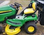 Riding Mower For Sale: 2018 John Deere X330, 22 HP